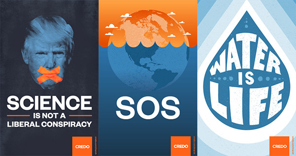 Climate March Posters