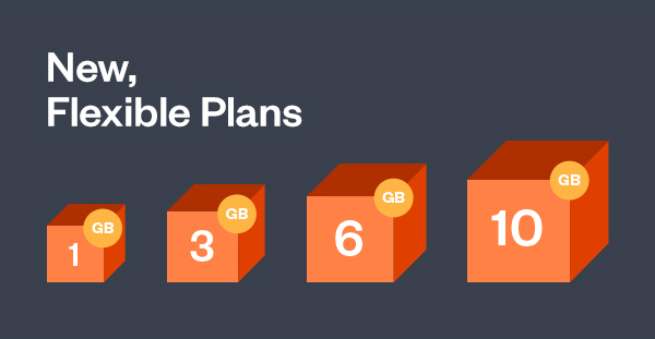 New, flexible plans